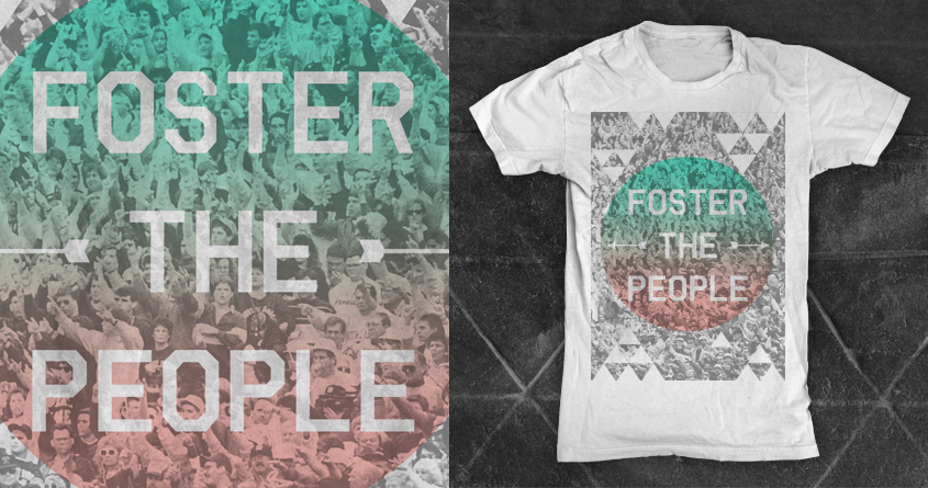 FOSTER THE PEOPLE TEE 2
